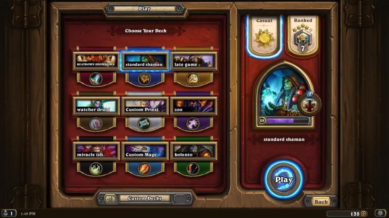 Heroes in Hearthstone: Heroes of Warcraft