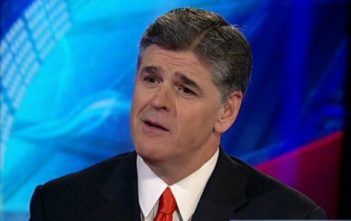 Sean Hannity On Set
