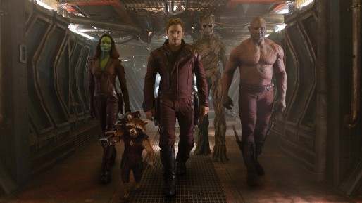 Guardians of the Galaxy Movie Shot