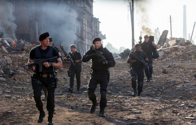 The Expendables 3 Movie Shot