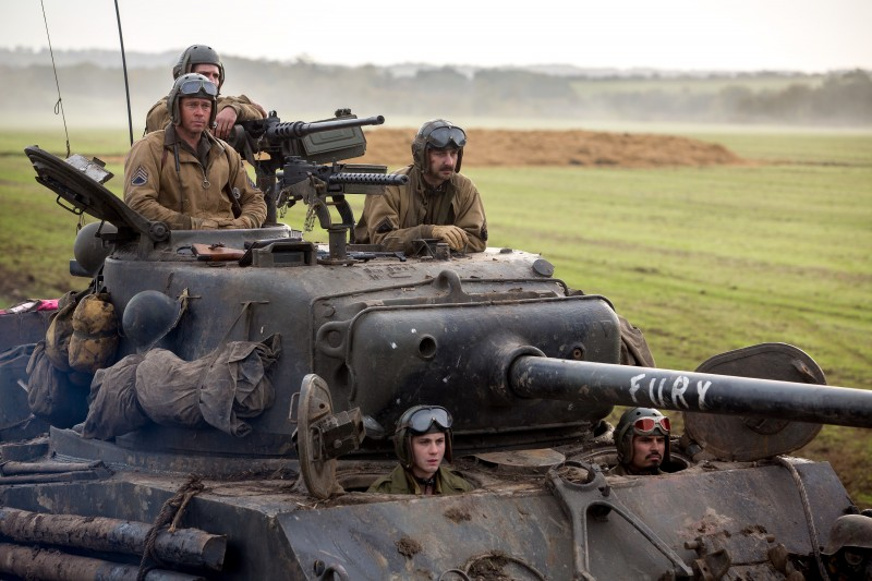 Fury Movie Shot