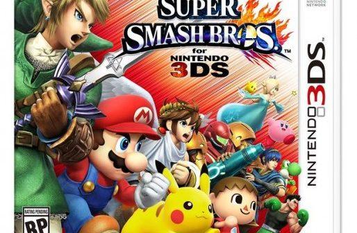 Super Smash Bros. Cover Art