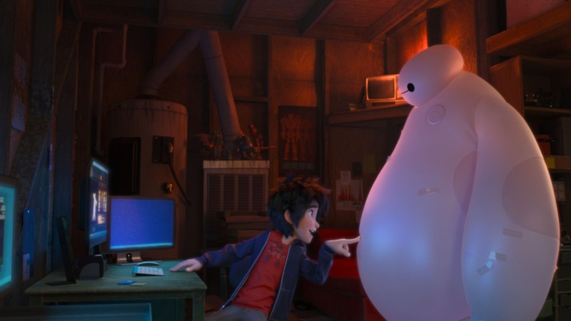 Big Hero 6 Movie Shot