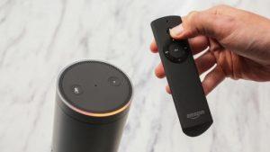 Amazon Echo and Remote