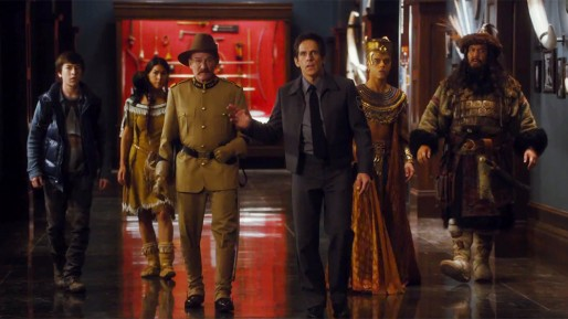 Night at the Museum: Secret of the Tomb Movie Shot