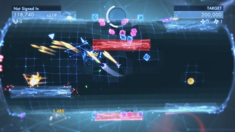 Geometry Wars³: Dimensions Screen Shot