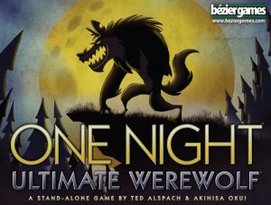 One Night Ultimate Werewolf Cover Art