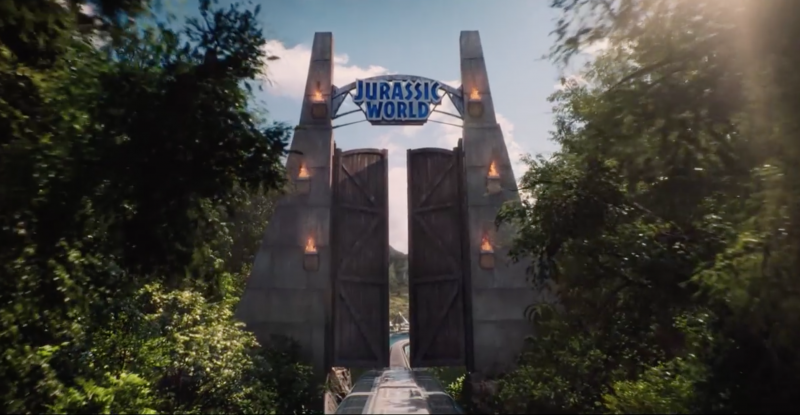 Jurassic World Movie Shot
