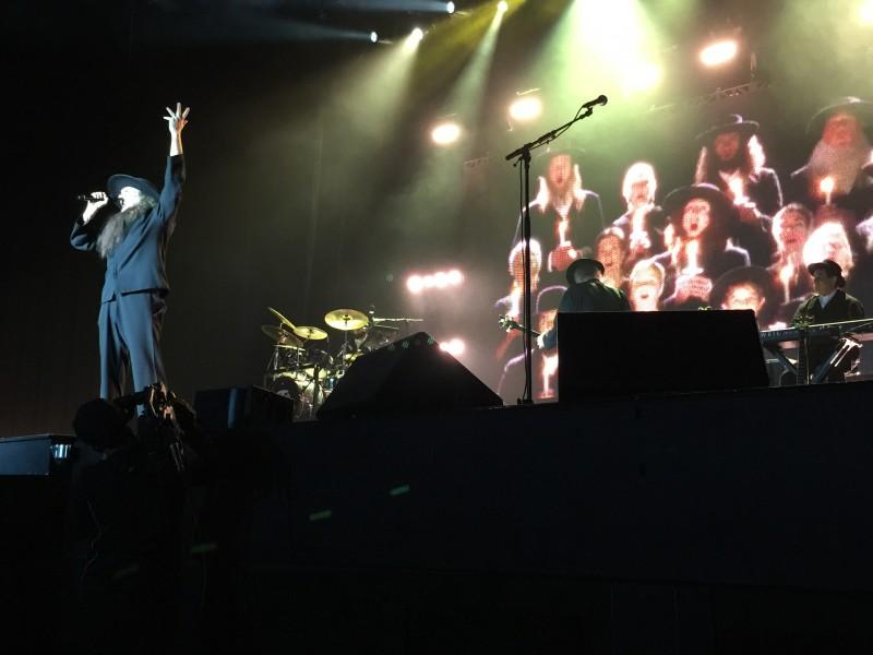"""Weird Al"" Yankovic Concert Shot 1"