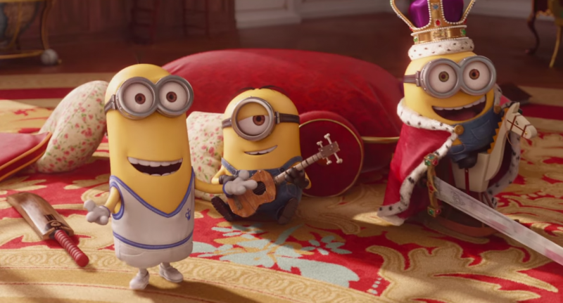 Minions Movie Shot