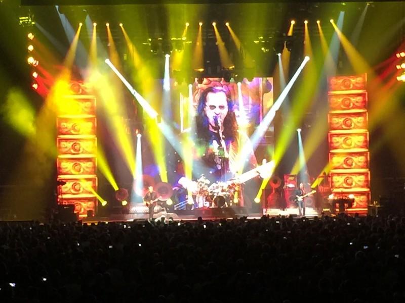 Rush Concert Shot 1