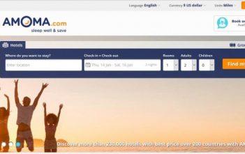 Buyer Beware - Amoma Travel Site Warning 1