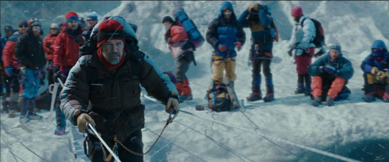 Everest Movie Shot