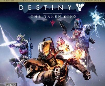 Destiny: The Taken King Cover Art