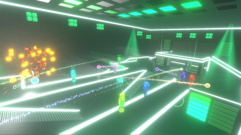 Robot Roller-Derby Disco Dodgeball Screen Shot