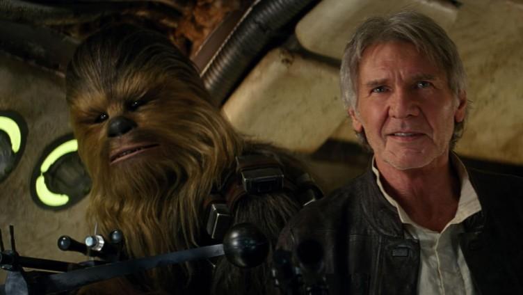 Star Wars: The Force Awakens Movie Shot
