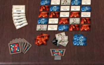 Codenames Game Layout and Components