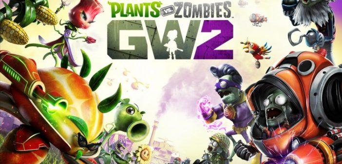 Plants vs. Zombies: Garden Warfare 2 Cover Art
