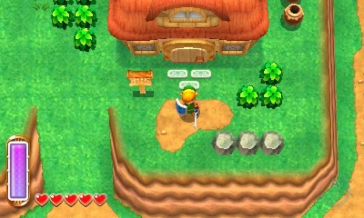 The Legend of Zelda: A Link Between Worlds Screen Shot