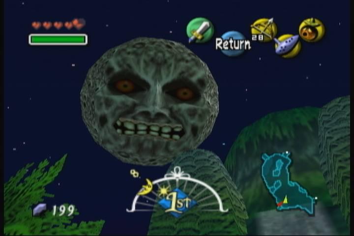 The Legend of Zelda: Majora's Mask Screen Shot