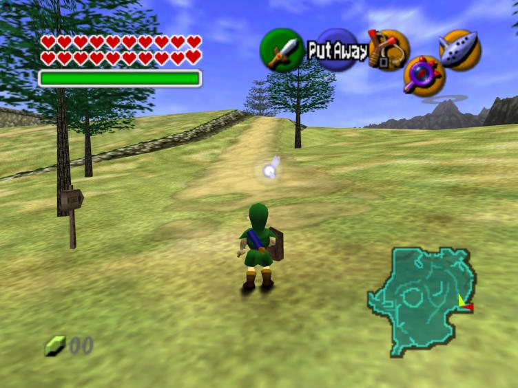 The Legend of Zelda: Ocarina of Time Screen Shot