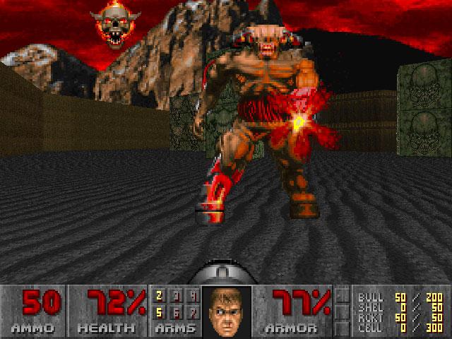 Doom Screen Shot