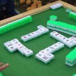 Mahjong Table and Tiles