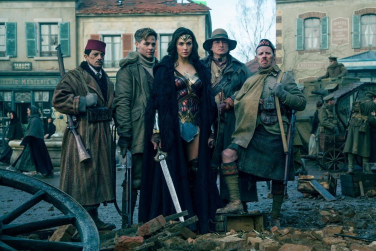 Wonder Woman Movie Shot