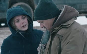 Wind River Movie Shot