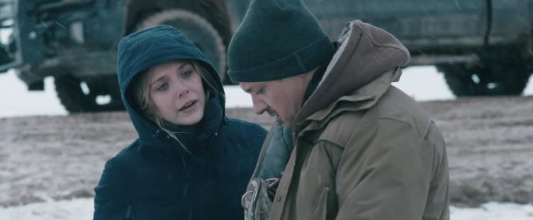 Wind River Movie Shot