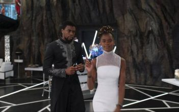 Black Panther Movie Shot