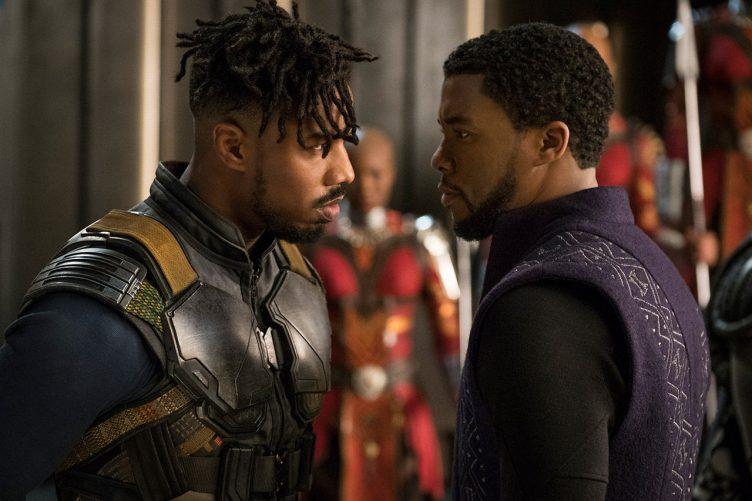 Black Panther Movie Shot