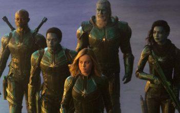 Captain Marvel Movie Shot