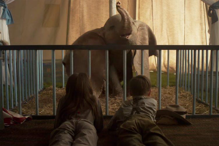 Dumbo Movie Shot