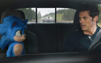 Sonic the Hedgehog Movie Shot