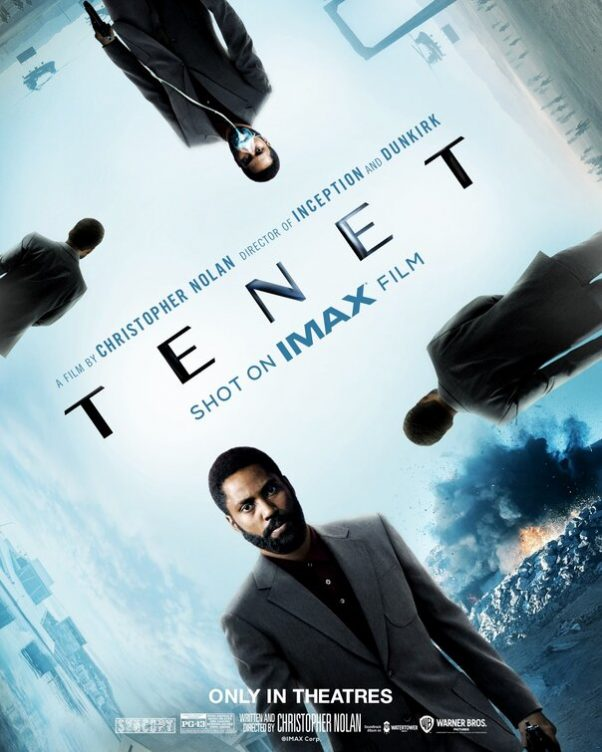 Tenet Movie Poster
