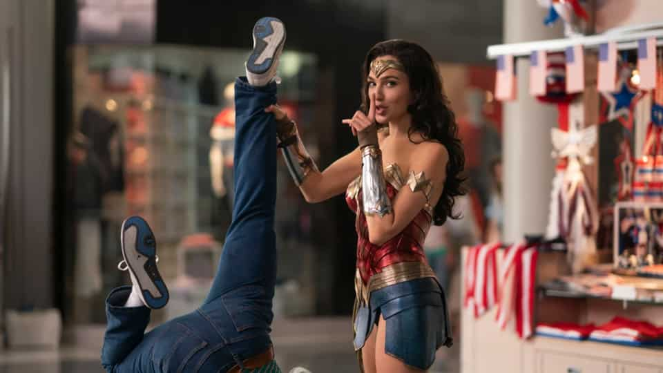 Wonder Woman 1984 Movie Shot