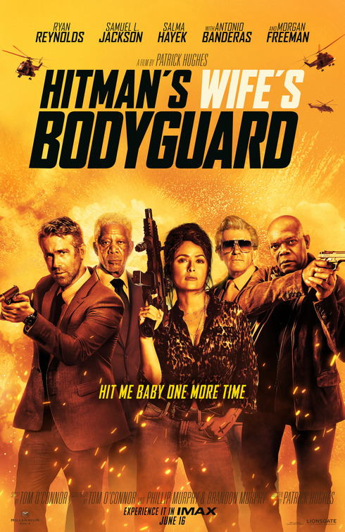 Hitman's Wife's Bodyguard Movie Poster