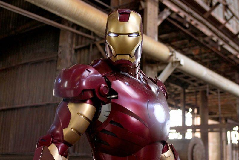Iron Man Movie Shot