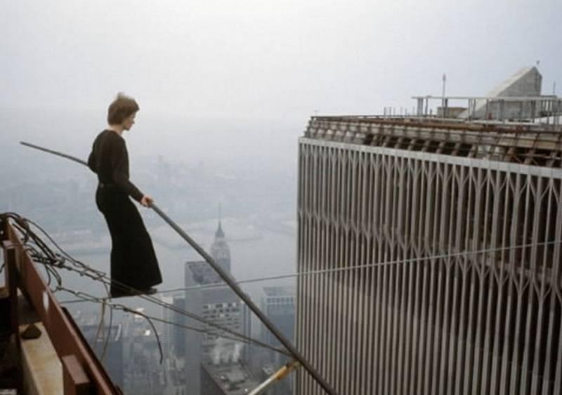 Man on Wire Movie Shot