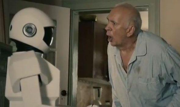 Robot & Frank Movie Shot
