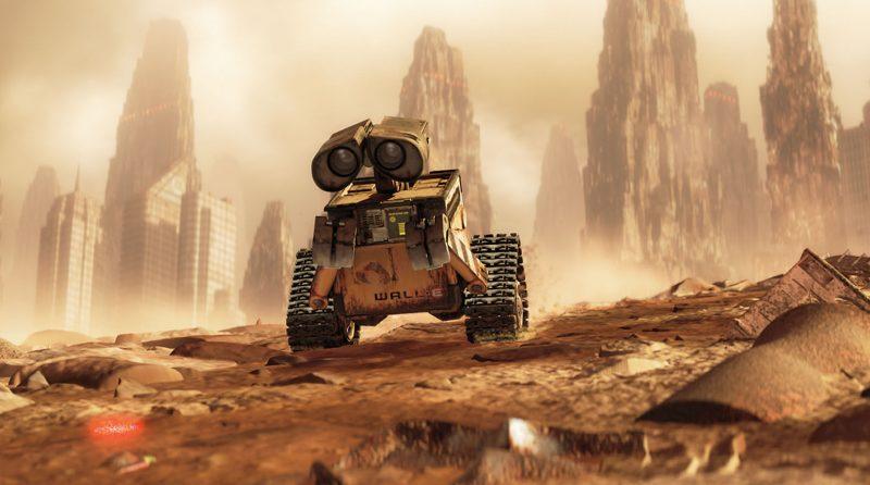 WALL-E Movie Shot
