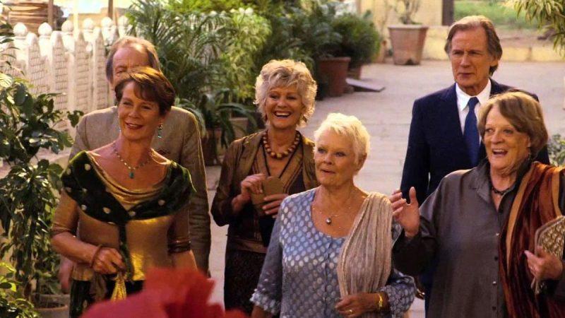 The Best Exotic Marigold Hotel Movie Shot